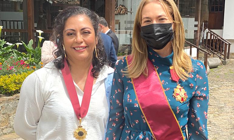 HSB Radio Tres mujeres haciendo patria: Sociedad Colombiana de Prensa entrega reconocimiento